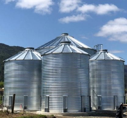 28000 Gallon Galvanized Water Storage Tank